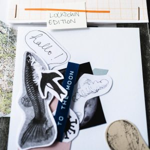 Ein Detail von Olalla Castro: DIY-Collage, Lockdown-Edition